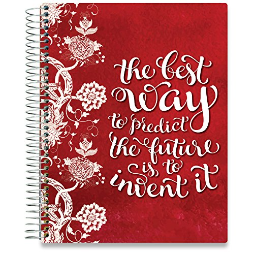 2020 Planner - Dated October 2019-2020 - 8.5 x 11 Hardcover - Daily Weekly Monthly Planner - Dated Oct November December 2019 Plus 2020 Calendar Year - by Tools4Wisdom Planners