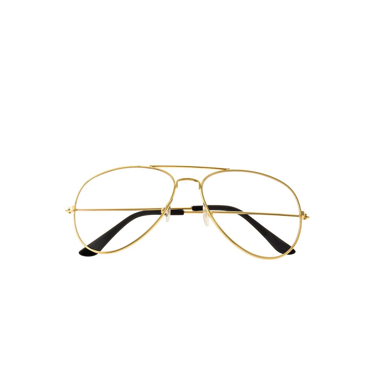 Forepin� Unisex Aviator Style Eyeglasses Metal: Amazon: Electronics