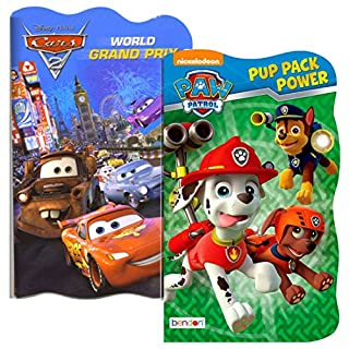 Disney Baby Toddler Board Books - Set of 2 (PAW Patrol and Disney Cars)