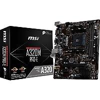 MSI A320M PRO-E, Soket AM4, DDR4 3200(OC), DVI, VGA, USB3.1, mATX
