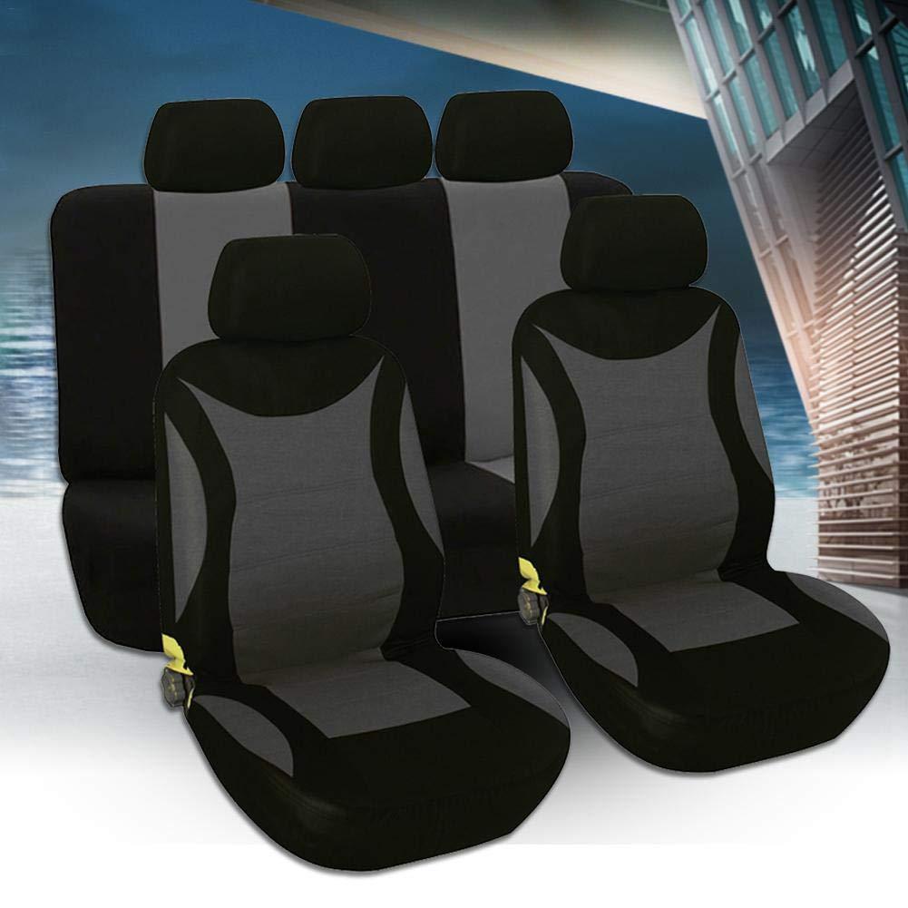 G-wukeer Renault Clio Accessori Coprisedili per Auto Protezione Protettiva Traspirante Tampone Protettivo per Auto 9 Pezzi