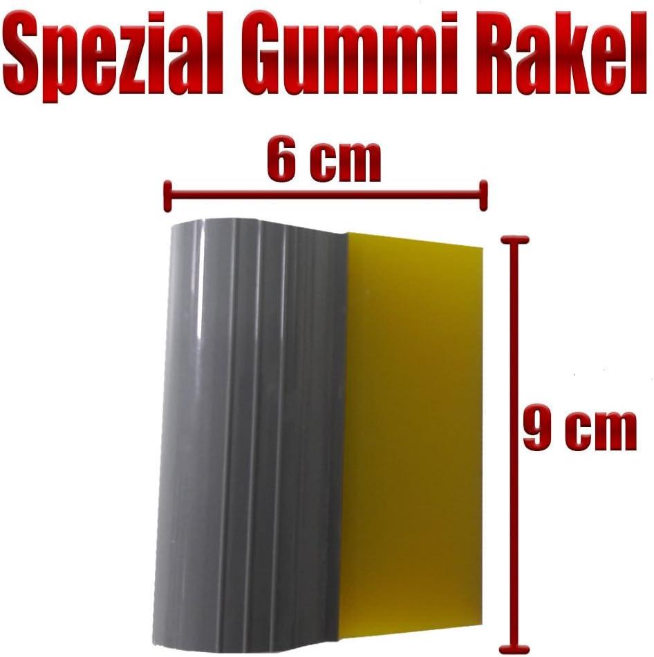 LEON-FOLIEN Scheiben T/önung Top Qualit/ät Auto Glasfolien Spezial Gummi Rakel