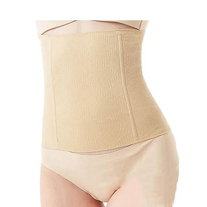 b23bde7d8cb MZjJPN Women Waist Trainer Corset Cincher Steel Boned Seamless Tummy  Control Belt Shapewear Slimmimg Workout Body