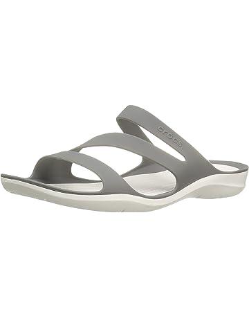3116a73bc21ee Crocs Women's Swiftwater W Flat Sandal
