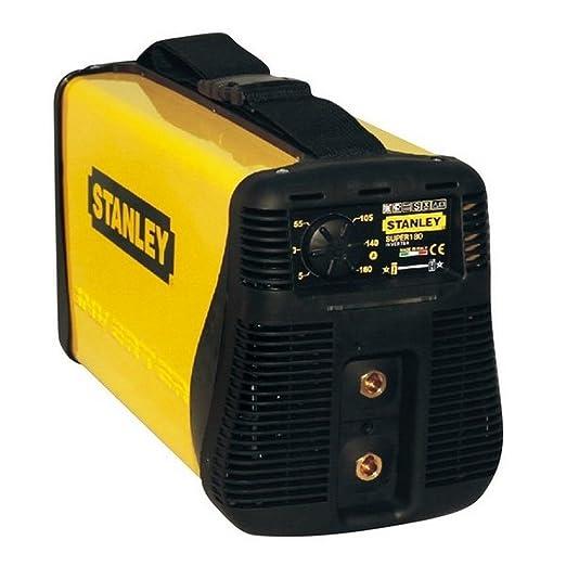 Stanley SUPER 180 TIG - Equipo de soldadura (4,2 W, 230 V), color amarillo y negro: Amazon.es: Industria, empresas y ciencia