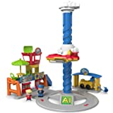 Fisher Price People Dgn27 – Aeroporto elettronico sonoro