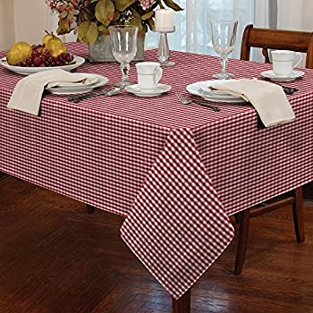 Tablecloth Checkered Plaid Dinner Summer Dining Linen Picnic Blanket Table  Cover Gingham Check Buffalo Bohemian Square Part 80