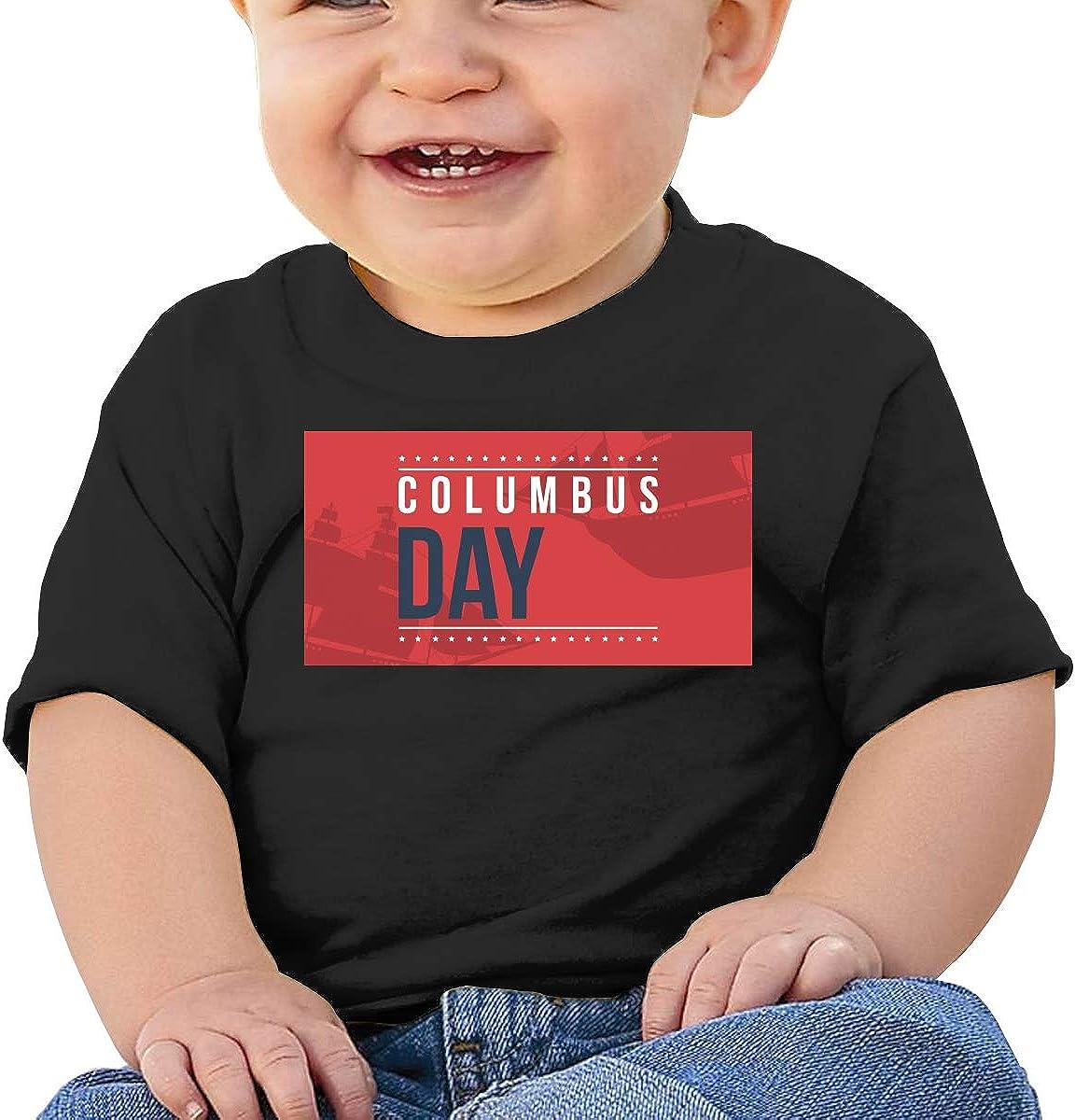 ANYE/&/&HF Happy Columbus Day Unisex Baby T-Shirt