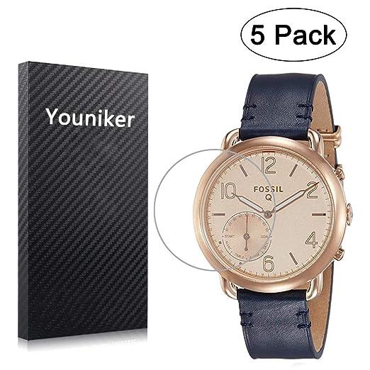 Youniker - Juego de 5 protectores de pantalla para Fossil Q ...