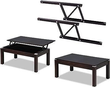 Eclv Lift Up Modern Coffee Table Desk Diy Mechanism Hardware