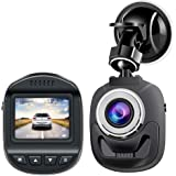 """Dash Cam Car Camera Accfly Mini Dashboard HD 1080P Dirving Video Recorder 1.5"""" Screen 120° Wide Angle WDR Motion Detection Loop Recording G-Sensor"""