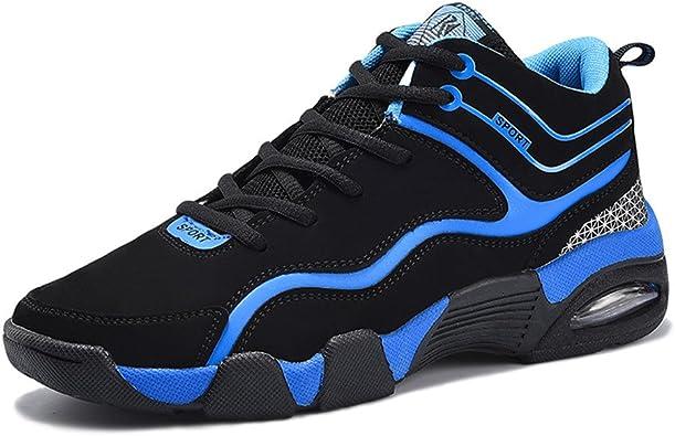 SHELAIDON Zapatillas de Baloncesto Running Hombre, Zapatos para ...