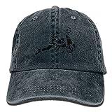 FBGVFD USA Wrestling Logo Baseball Caps Cool Plain/Flat Snapback Hats for Adults