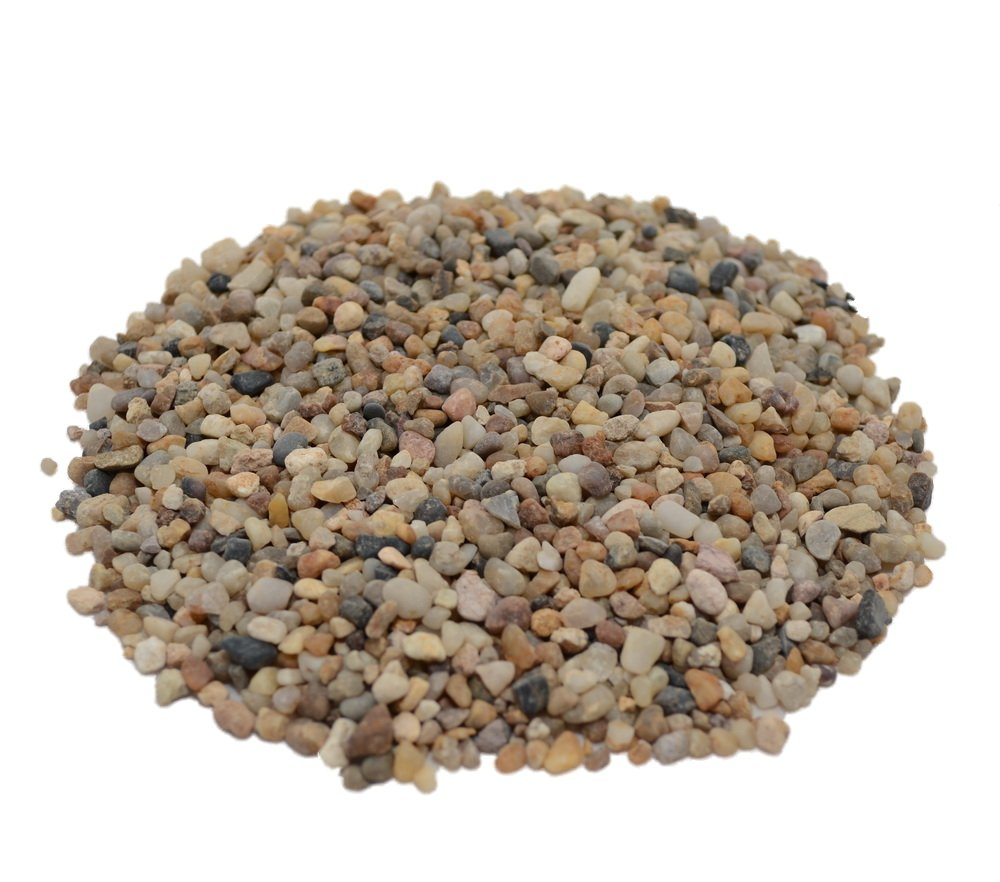 CNZ Aquarium Natural River Gravel, 40 lb.