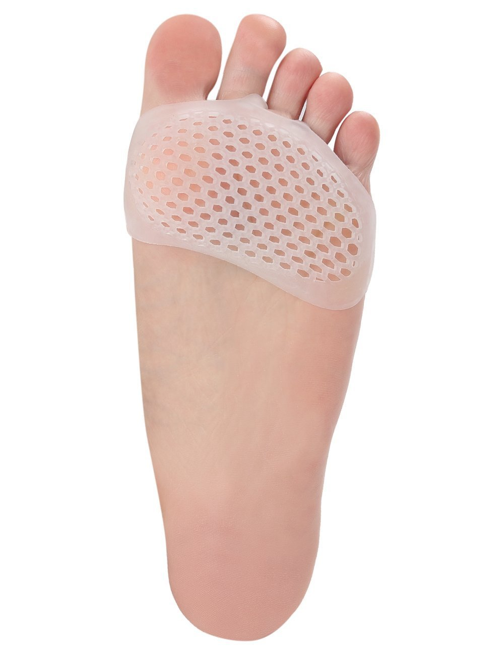 Gel Metatarsal Cushion Toe Separators - Forefoot Pad for Mortons Neuroma- Rapid Foot Pain Relief