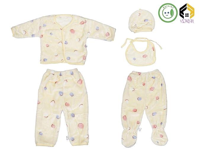 7cecabcbaaba Vijkan Aarushi New Born Baby Winter Wear 0-3 Months Keep Warm ...