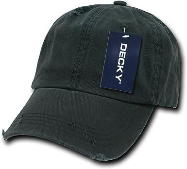 Decky Vintage Polo - Gorra para Hombre, Color Negro, Talla n/a ...