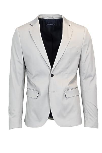 Antony Morato UOMO GIACCA SUPER SLIM MMJA00343-FA800046 48 (m) grigio  chiaro  Amazon.it  Abbigliamento 02b77440151