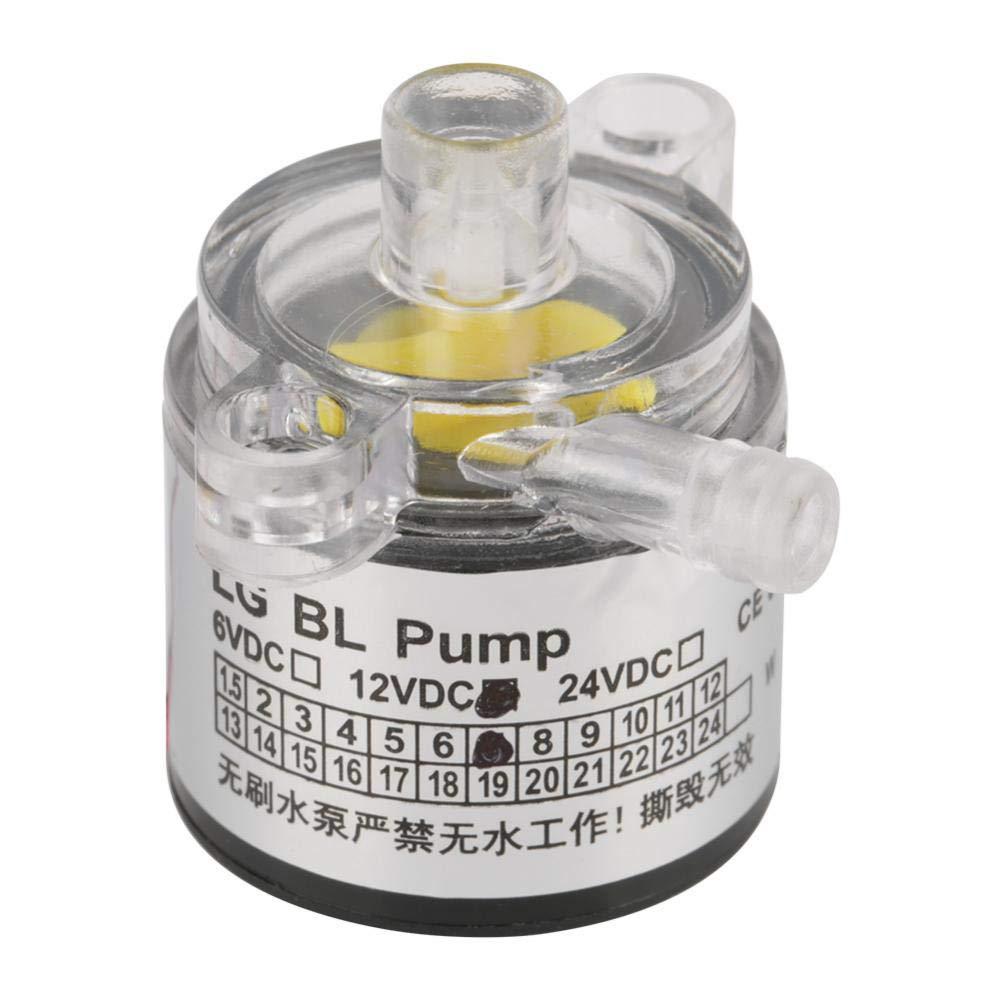 Akozon Mini Water Pump, Low Noise Environmental Plastic Electric Brushless Water Pump 12V 7W by Akozon (Image #7)