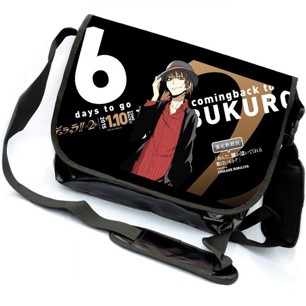 Anime Izaya Orihara Cartoon Cosplay Messenger Bag Shoulder Bag Siawasey Durarara!