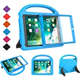 BMOUO Kids Case for New iPad 9.7 2018/2017 - Built-in Screen Protector Shockproof Light Weight Handle Convertible Stand…