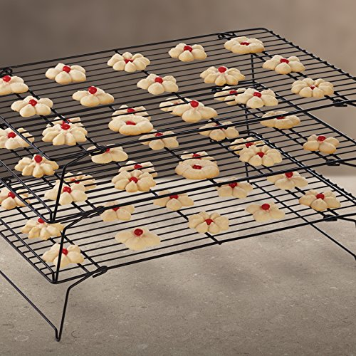 Wilton Excelle Elite 3-Tier Cooling Rack for Cookies, Cakes and More