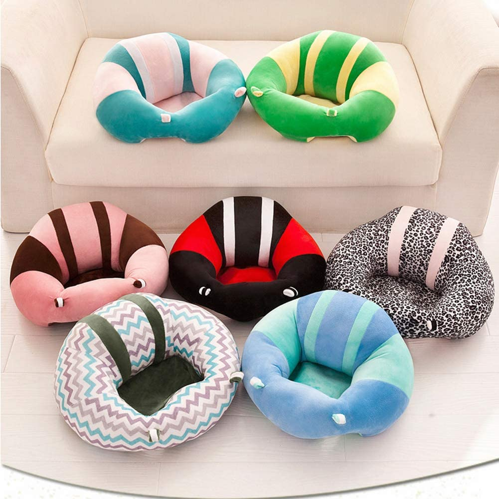 Baby Sofa Chair Support Seat Cover Soft Nest Puff Cover for Infant Toddler SL#