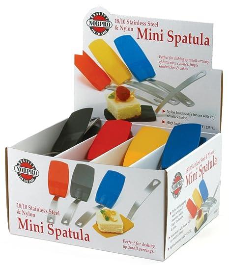 Amazon.com: Norpro – 1414d Mini Espátula de, varios colores ...