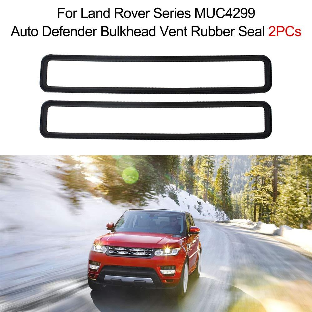 Pair Land Rover Series 3 Bulkhead Vent Seal Set MUC4299