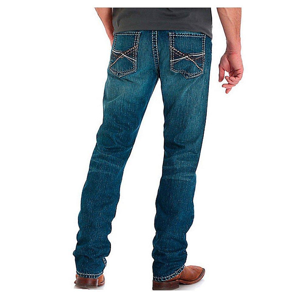 Wrangler Rock 47 >> Wrangler Rock 47 Men S Slim Fit Straight Leg Jean At Amazon Men S