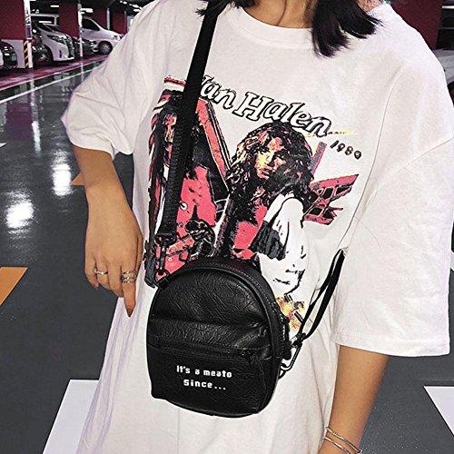 Noir l'épaule à Widewing pour femme porter à Sac vx00fBqwR