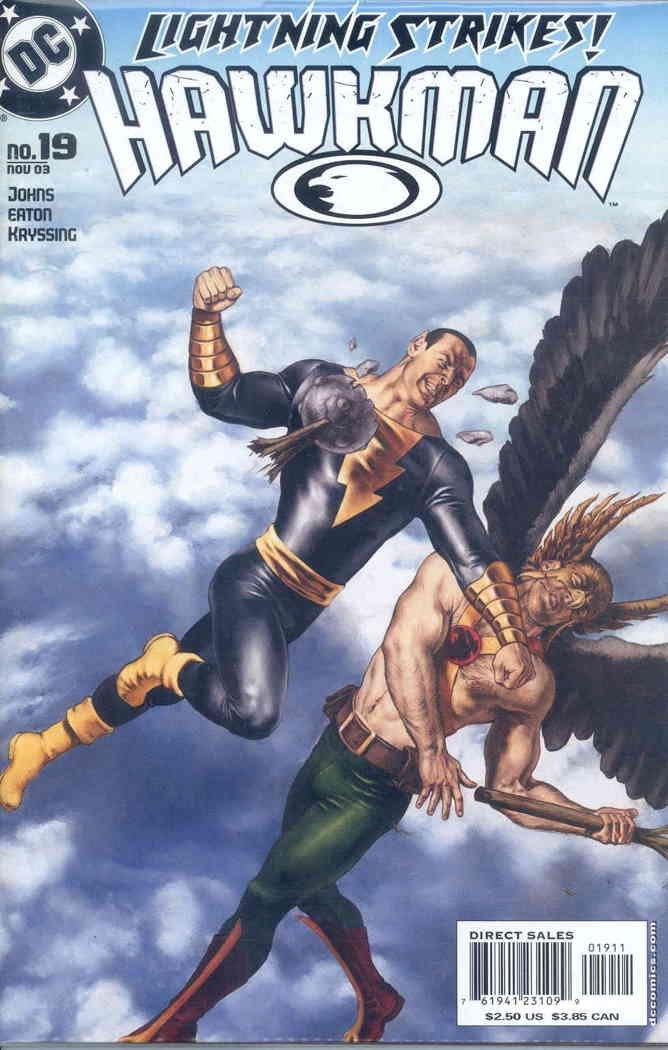 Hawkman (4th series) #19 VF/NM ; DC comic book