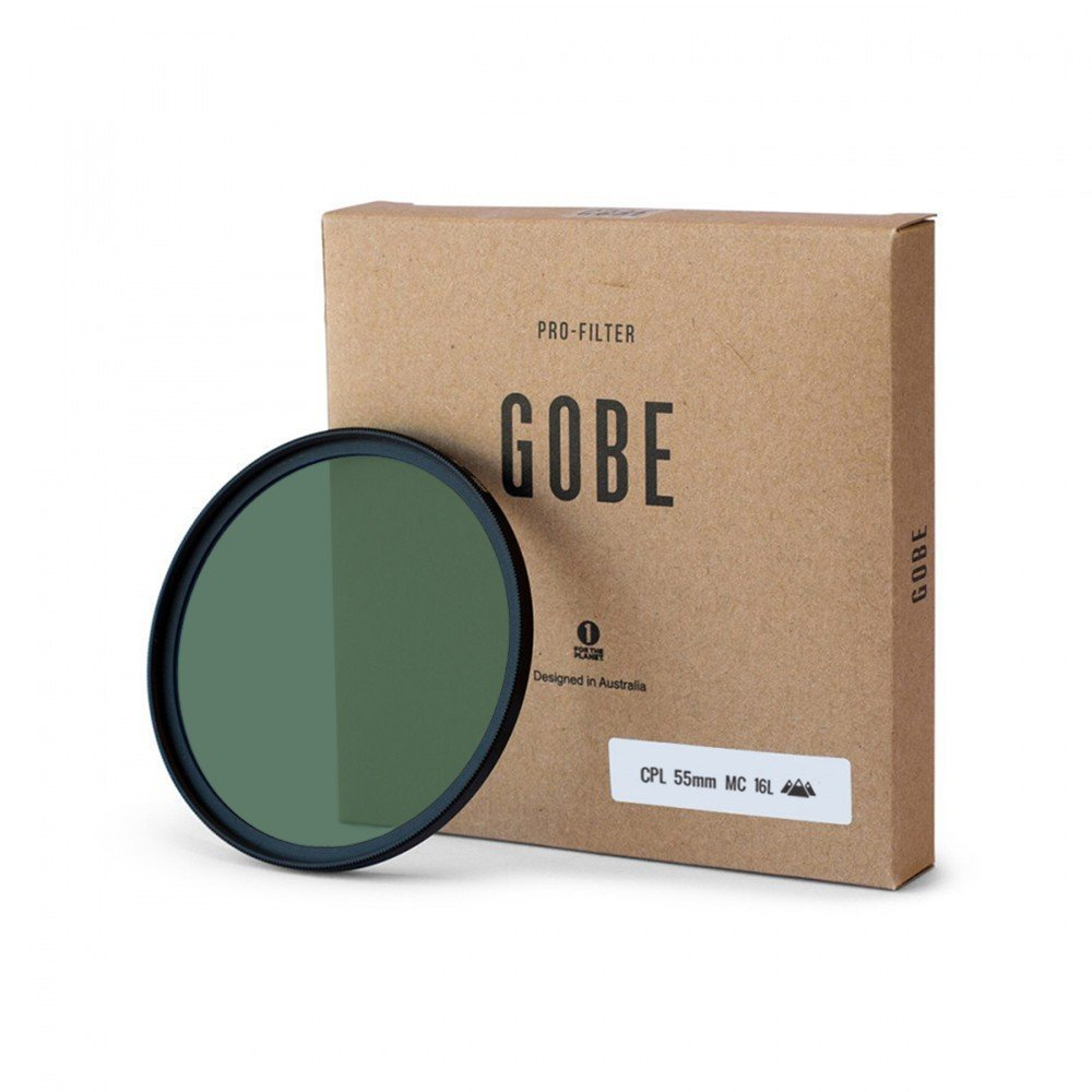 Gobe CPL 55mm SCHOTT 16-Layer Multi-Coated Polarized Filter by Gobe