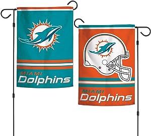 "WinCraft NFL Miami Dolphins WCR08372013 Garden Flag, 11"" x 15"""