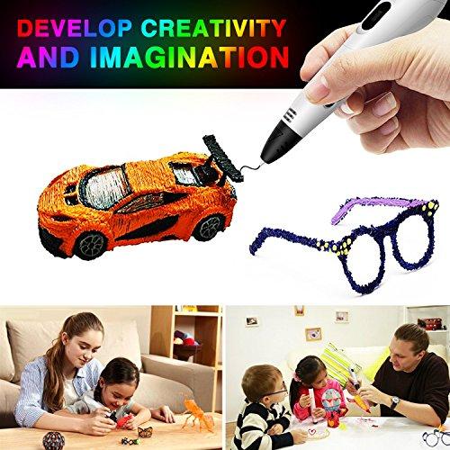 Low Temperature MYNT3D Junior 3D Pen Filament 1.75mm 10 Color 3m Each PCL