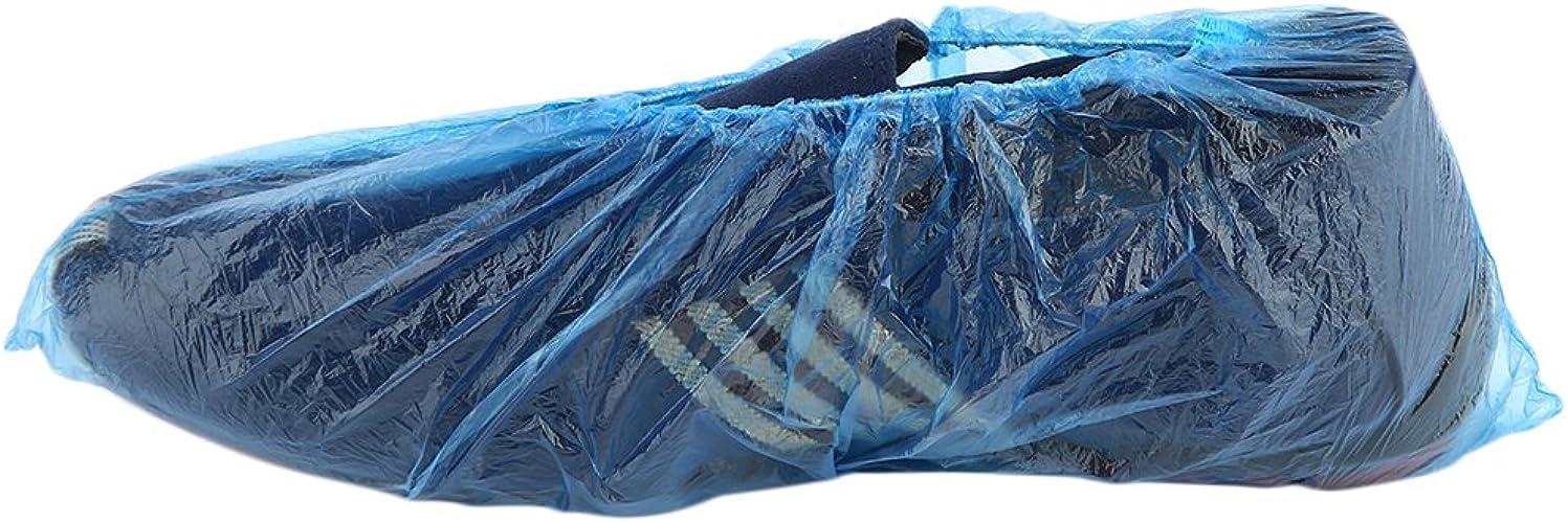 73JohnPol 100 Unids//set Desechables Cubiertas de Zapatos de Pl/ástico Habitaciones Aire Libre Impermeable Bota de Lluvia Alfombra Limpia Calzas de Calzado de Hospital Kits de Cuidado de Zapatos