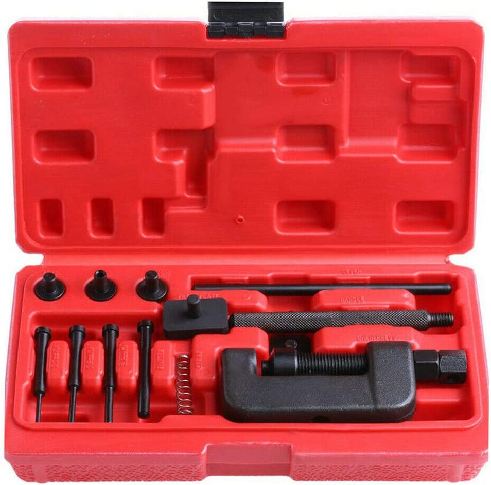 Anxingo Bicycle Chain Link Removal Tool Bicycle Chain Breaker Tool for 7 8 9 10