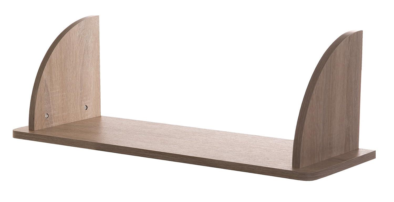 Roba Lena 39551 Oak Wall Shelf Untreated/White