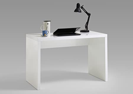 CAVADORE Oskar-Office Escritorio, Blanco, 130 x 73 x 60 cm: Amazon ...