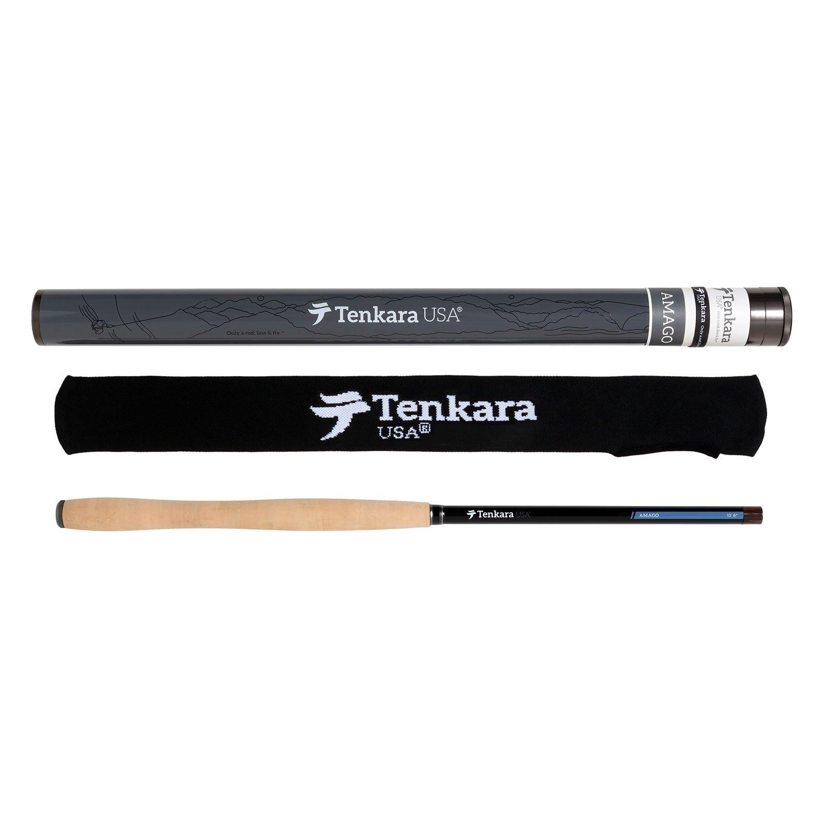 Tenkara USA Amago Fly Rod 13.5 ft. (410cm) Matte Black Telescopic Rod