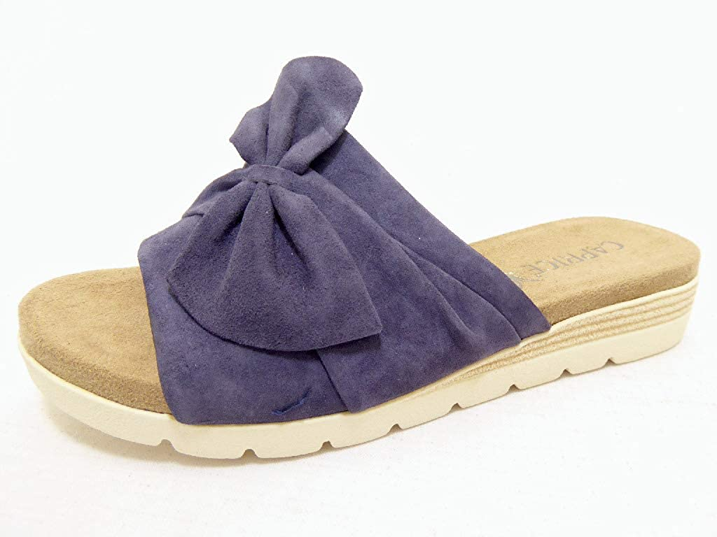 Blau CAPRICE Damen Gipsy Pantoletten