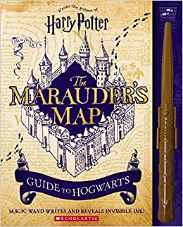 Marauder's Map Guide to Hogwarts (Harry Potter): Erinn ... on secret s map harry potter, map in game of thrones, map harry potter books, fictional map harry potter,