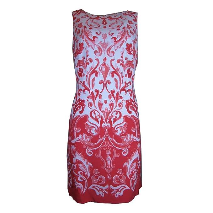 70998a67 Lauren Ralph Lauren Printed Crepe Shift Dress (14) at Amazon Women's ...