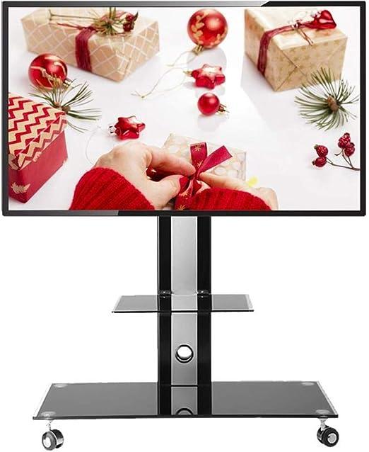 XDDan Base de TV, Ajustable TV móvil de la Compra, el Monte TV con ...