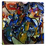 Museum quality All Saints Day II by Wassily Kandinsky Canvas Print. Out of passion for art, iCanvas handcrafts the highest quality giclee art prints, using only premium materials. The art piece comes gallery wrapped, ready for wall hanging with no ad...