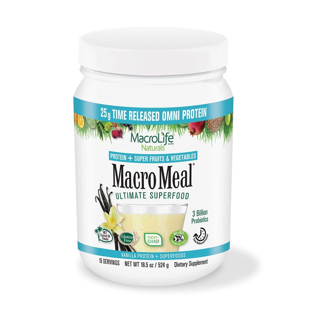 MacroLife Naturals MacroMeal Omni Protein - Vanilla - 15 Servings