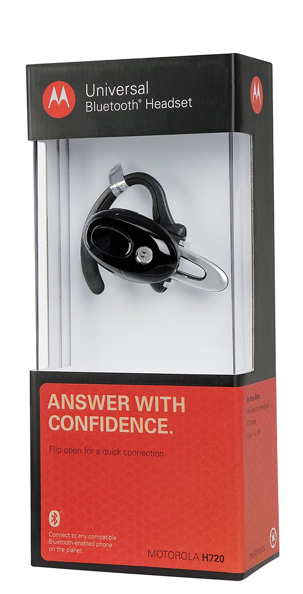 Amazon motorola h720 black bluetooth headset retail amazon motorola h720 black bluetooth headset retail packaging cell phones accessories fandeluxe Image collections