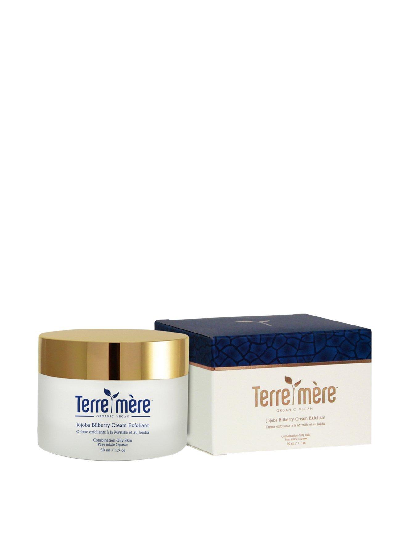 Terre Mere Cosmetics Cream Exfoliate, Jojoba Bilberry