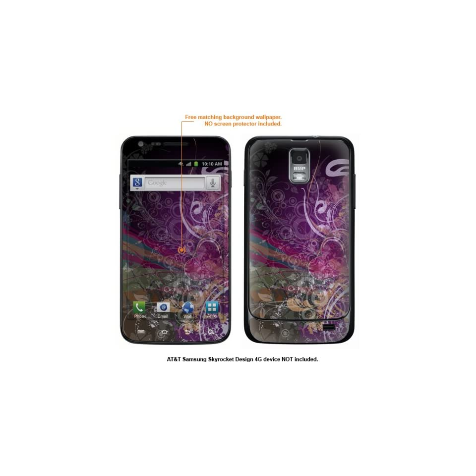 Protective Decal Skin Sticker for Samsung Galaxy S II Skyrocket (AT&T Model) case cover Skyrocket 471 Cell Phones & Accessories