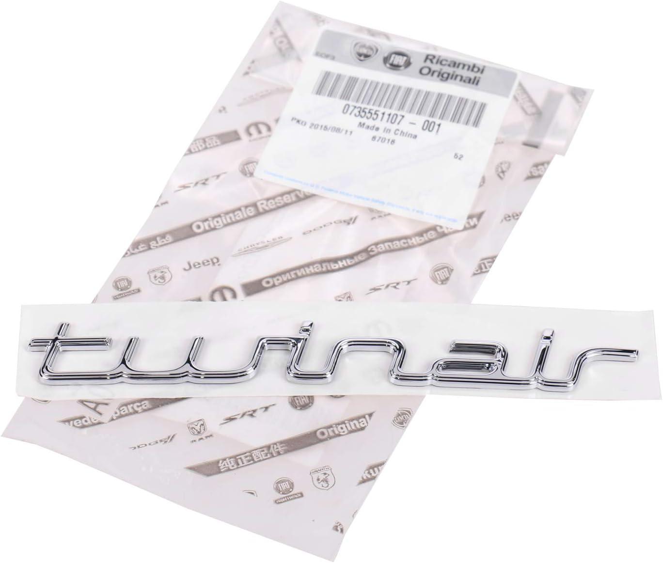 Fiat Punto 199 Schriftzug Emblem Hinten Twinair 735551107 Auto